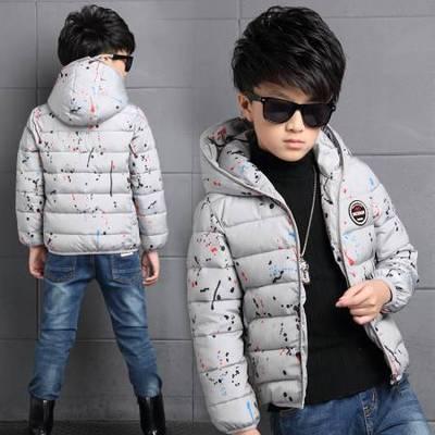 天天特价儿童6棉衣7冬装男童8短款9棉服男孩12外套中大童15岁棉袄