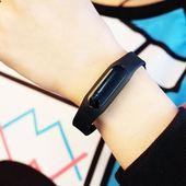 新款非智能触屏手环运动手表男表女表情侣表儿童学生防水电子
