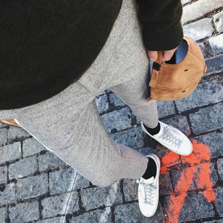 @威廉威 16/秋冬 提升气质 修长腿效果80%羊毛呢料修身裤 厚暖