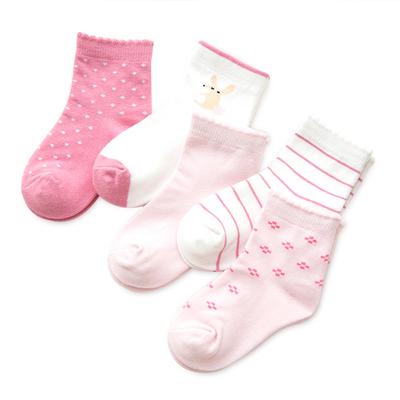 儿童冬款卡通袜子5双