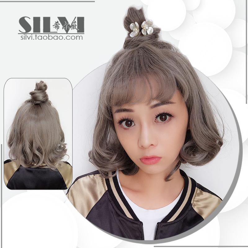 圆脸[图片]脸型发型正品2015女v圆脸短发适合的长发型适合扎高马尾吗?图片