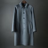 这品相商场至少5000!硬货!手工双面羊绒羊毛 男装中长款大衣V30