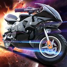 2017新款49CC迷你摩托小跑车 二冲程易拉电启动摩托车 小型趴赛摩