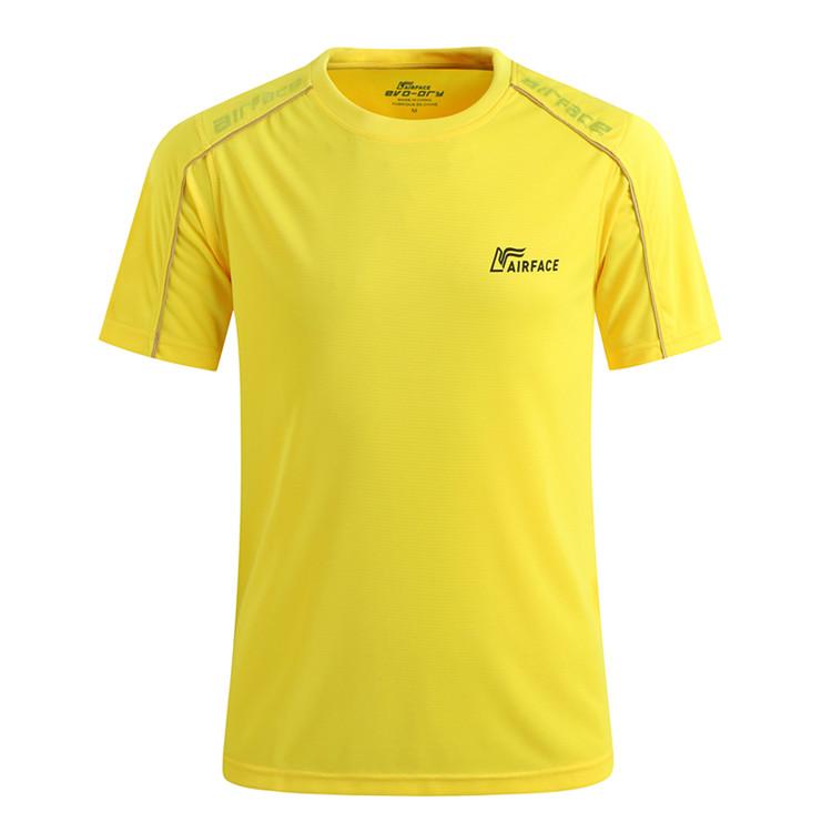 【3件99元】短袖休闲运动T恤轻薄透气吸汗快干跑步衣速干T恤 男