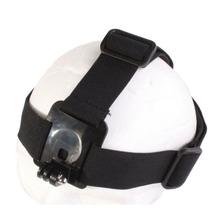 山狗gopro hero4/3+头套绑带固定头戴小蚁运动摄像机配件防滑头带
