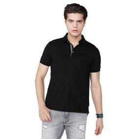 美国直邮Armani Exchange/阿玛尼AX男纯色POLO衫纯棉短袖