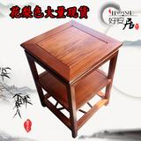 仿古家具客厅简约实木茶几榆木茶台中式时尚小方桌正方形创意茶台