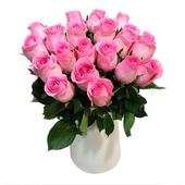 去刺玫瑰18支装  鲜花批发花束同城速递 江浙沪皖2扎顺风包邮