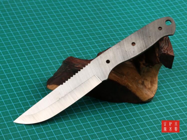刀胚 9铬钢刀胚 丛林之王DMZ 超硬HRC60度 线切割半成品 收藏级