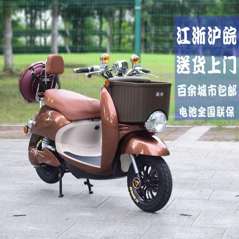 新款小龟王女士电动摩托成人电瓶车60v小绵羊电车电动车包邮分期