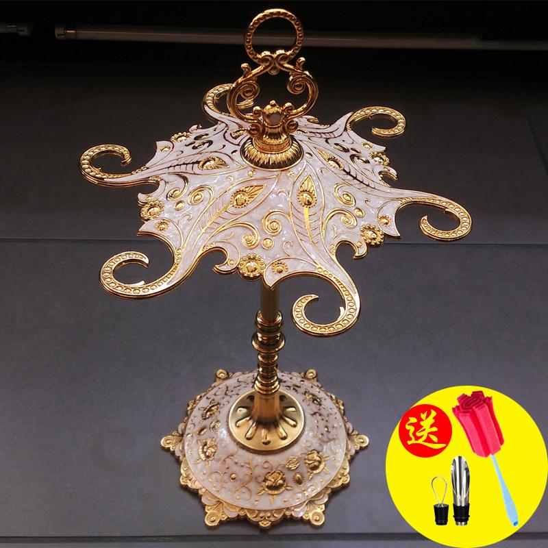 欧式高档宫廷复古红酒杯架