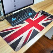 可爱大号电脑笔记本桌垫办公桌胶垫 超大加厚加长桌面键盘鼠标垫