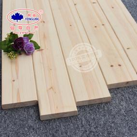 樟子松木材原木 木材定制 实木板材原木板 木板实木料木方床板条