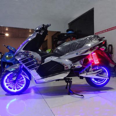 骠骑电摩 高速电动车酷车 电动跑车电摩托车电瓶车成人踏板车72V