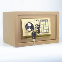 特价全钢家用小型迷你入墙密码办公商用床头防盗20cm保险箱保险柜