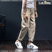 日系潮牌赤耳包边宽松直筒裤原创潮流小口袋休闲裤男士长裤工装裤