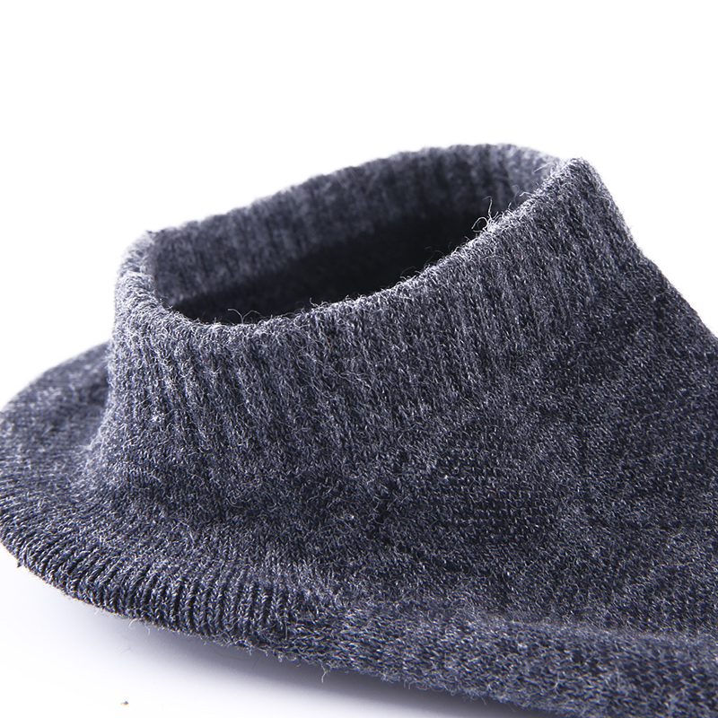 金利来袜子男菱形纹透气浅口船袜纯棉隐形运动防臭男士短筒袜四季