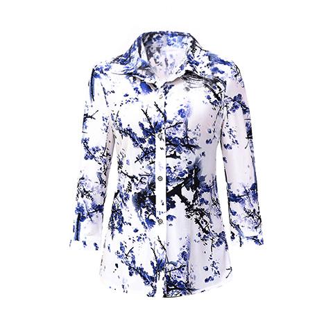 【包邮】中老年女长袖衬衫