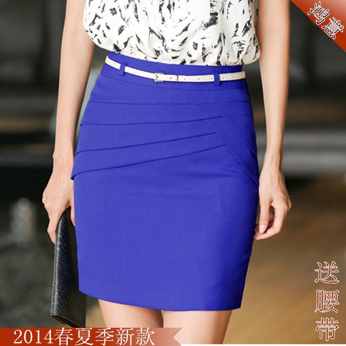 2014春夏新款韩版通勤职业西装裙一步修身半身裙包臀短裙裙子h-85