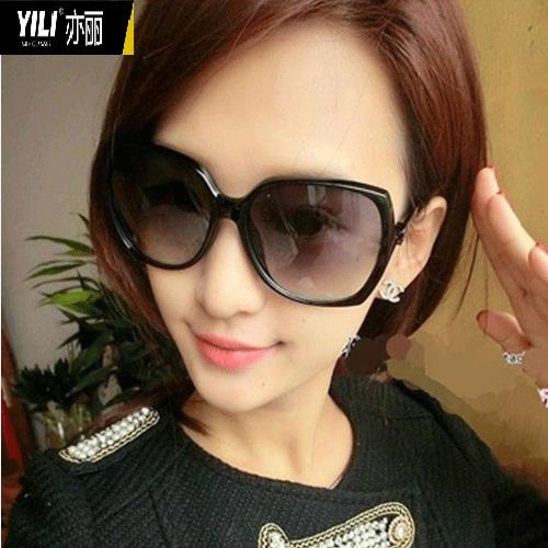 亦丽2014新款女士太阳镜时尚个性复古太阳眼镜大框墨镜5216