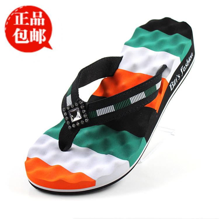 越南鞋平仙新款人字拖女 按摩凉拖鞋平底拼色女鞋 沙滩鞋夹脚拖鞋