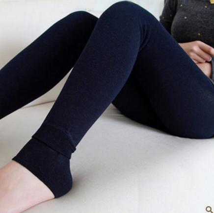 单层保暖裤脚踩女士秋装加绒打底裤加厚加肥冬款2014女装韩版裙裤