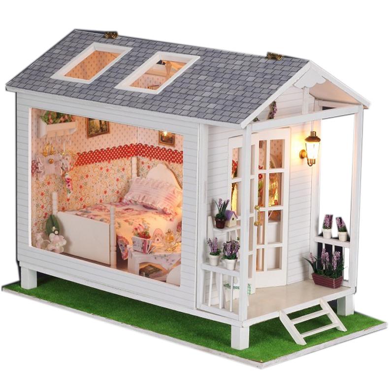 DIY小屋 恋恋海边屋 创意礼品 手工模型生日迷你房子玩具礼物送女