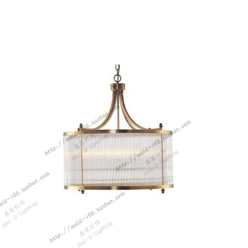 HARBOR HOUSE 卧室餐厅吸顶灯 美式全铜书房吊灯