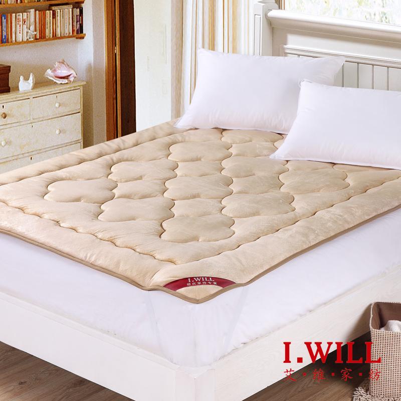 艾维家纺 驼绒 床垫 学生宿舍用 加厚 垫被 褥子 1.2米 包邮
