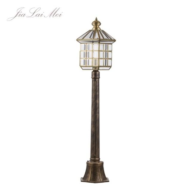 全铜欧式古典别墅庭院灯