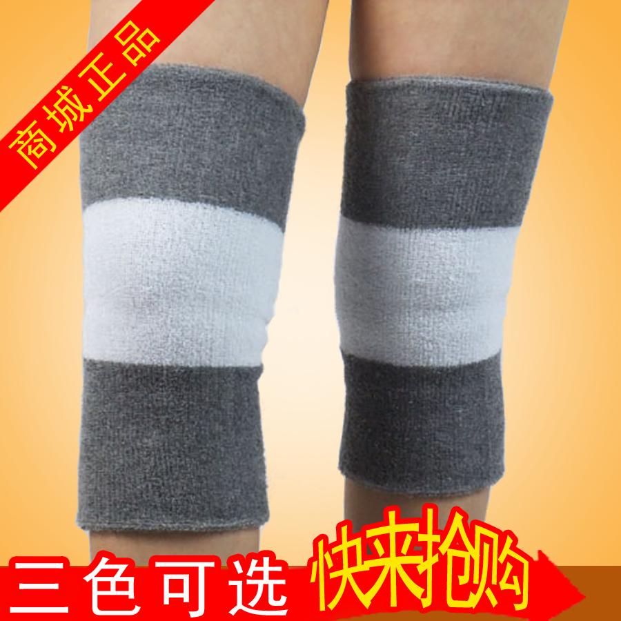 正品毛巾护膝 夏季舞蹈跪地跳舞运动护膝 男女老年人膝盖加厚保暖