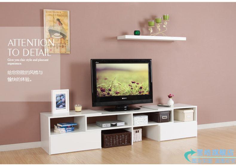 电视柜  可旋转伸缩液晶电视柜 现代简约时尚视听柜组合