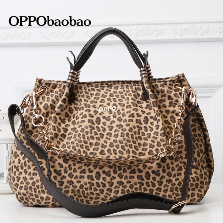 2015新款潮女士包 欧美时尚豹纹手提包 百搭单肩斜挎包包特价