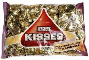 美国进口 年货 喜糖 杏仁巧克力好时金粒