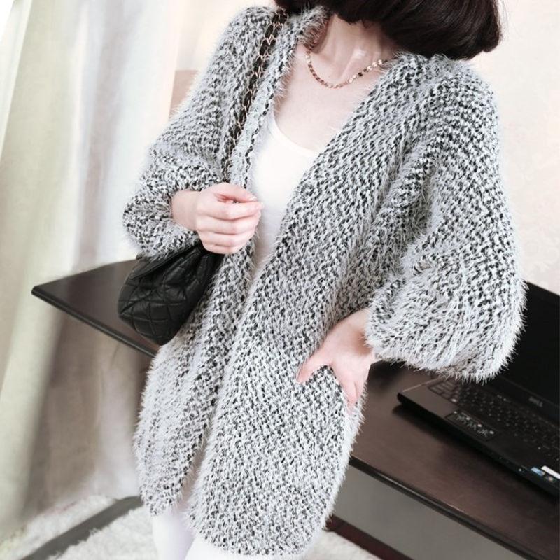 香港IT正品代购韩国SZ秋季新款女式针织衫披肩开衫毛衣外套秋冬