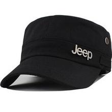 速干帽男女帽平顶帽户外遮阳运动帽太阳帽子军帽 吉普正品