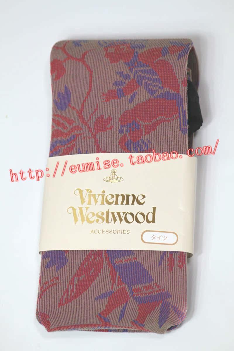日本制造专柜正品vivienne westwood连裤袜
