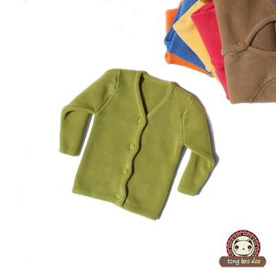 [两件包邮] 秋冬加厚高弹力婴儿毛衣开衫 新生儿细毛线手工编织宝宝毛衣 8色