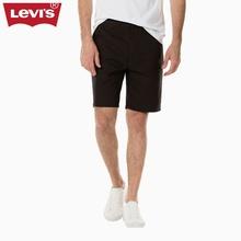 Levi's李维斯春夏季男士黑色纯棉休闲短裤21181-0005