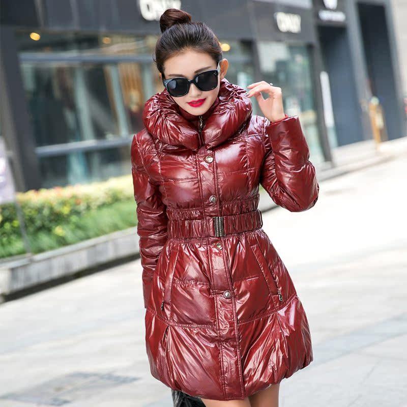 圣羽岚羽绒服女中长款加厚修身显瘦宽松长袖冬装反季清仓潮