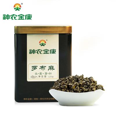 神农金康罗布麻 正品新疆罗布麻嫩叶 原叶 非袋泡罗布麻茶 125g