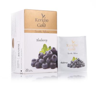 [时尚便携包] 进口Kericho Gold花果茶蓝莓茶果味水果花茶袋泡茶包20包花草茶