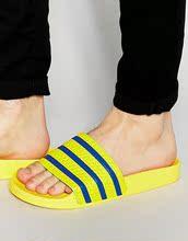 Adilette S78677 男女沙滩鞋 三叶草 Adidas