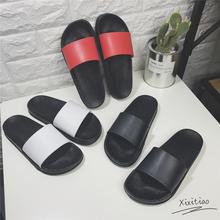 沙滩鞋 夏天男女士防滑家居家用浴室室内外洗澡凉拖鞋 韩国情侣拖鞋