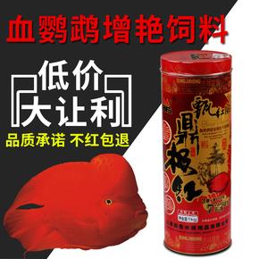 包邮鼎极红鹦鹉鱼增红饲料活体鹦鹉鱼食 金鱼罗汉鱼龙鱼优质饲料