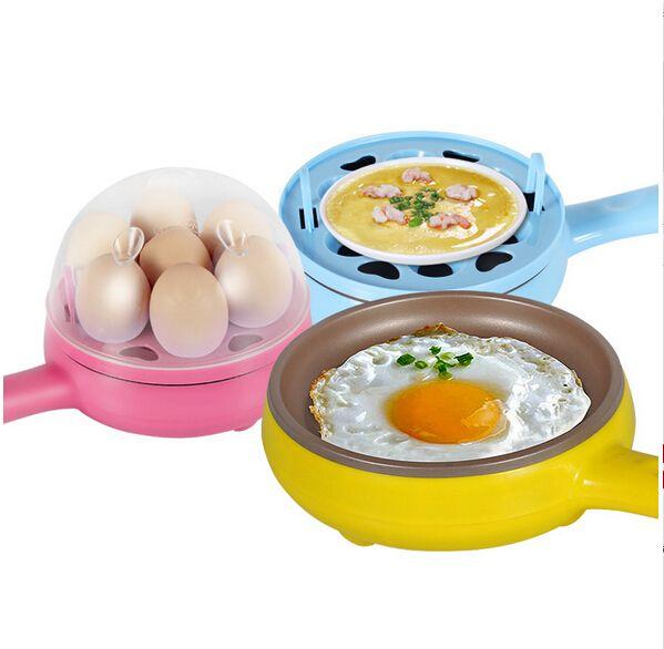 多功能迷你电煎锅煎蛋锅煎蛋煮蛋器小家电厨房电器蒸蛋器自动断电