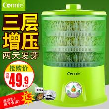 正品 清仓双三层大容量生豆芽机发芽罐盆 康丽豆芽机家用全自动特价