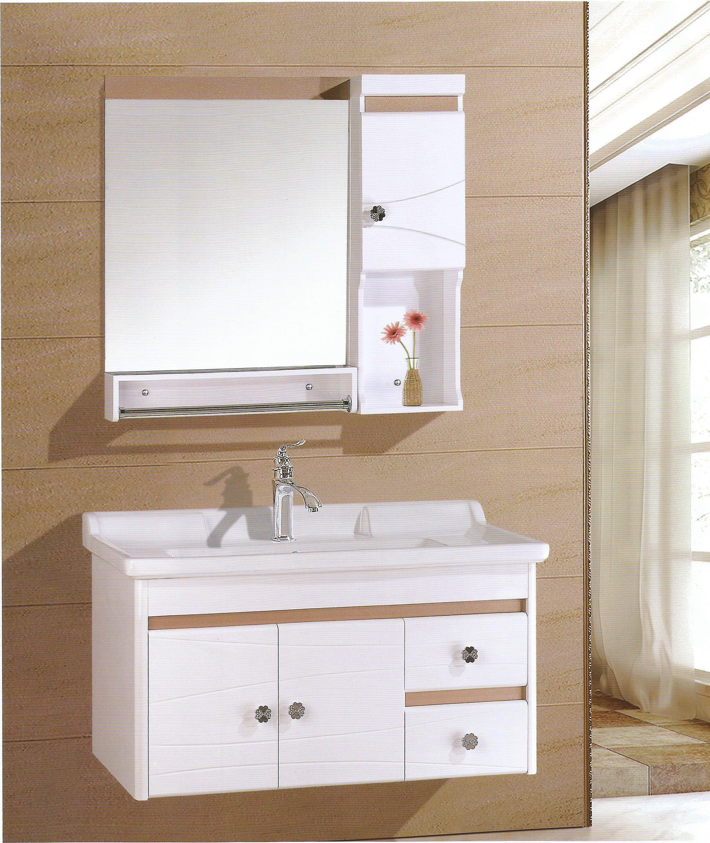 包邮80cm欧式浴室柜pvc洗漱台洗脸盆面盆柜厕所洗手