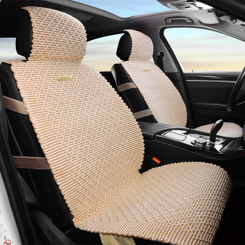 菱形夏季四季简约座垫夏天通用汽车用品汽车坐垫