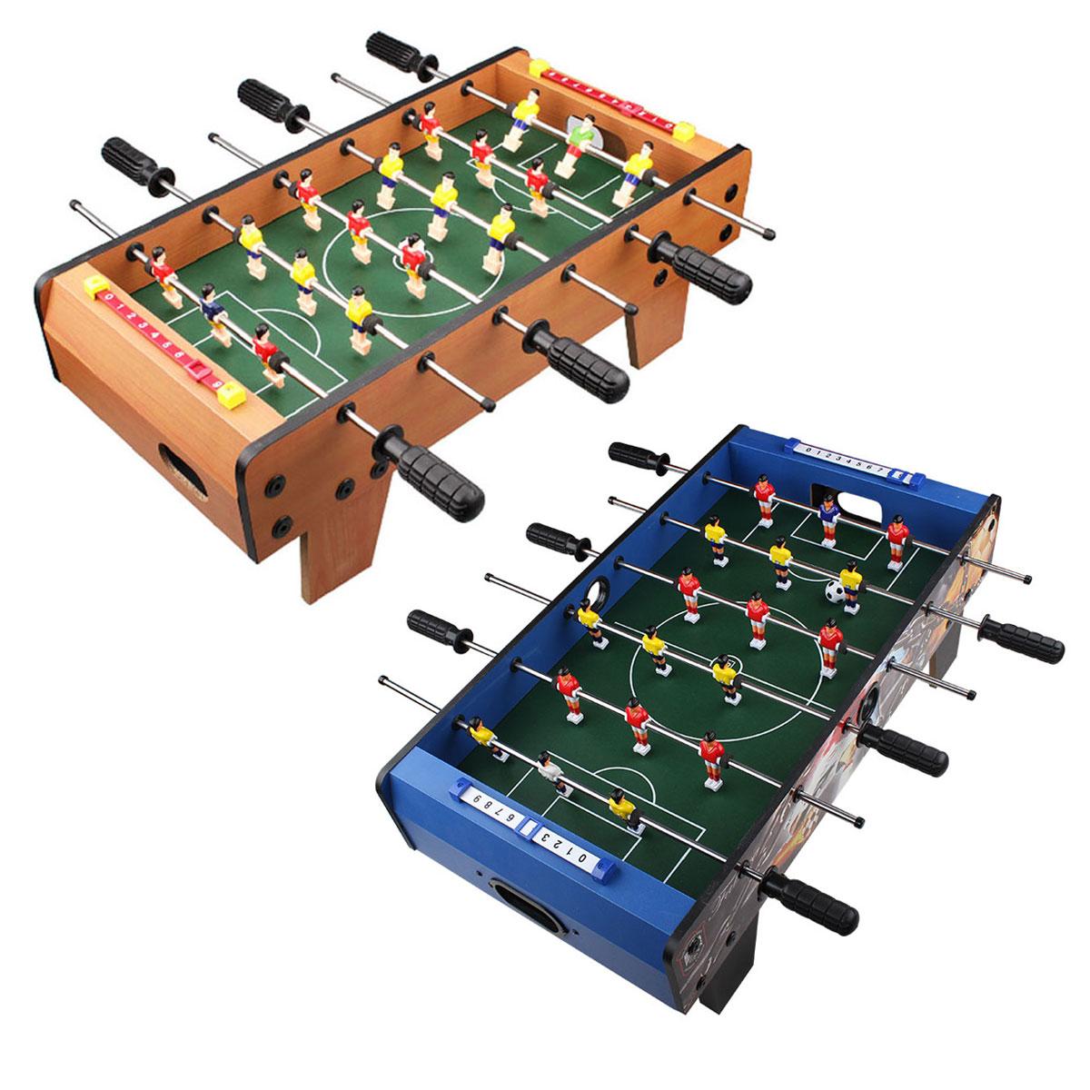Luwint包邮6杆4杆足球桌小型家用桌式足球游戏玩具儿童桌上足球机